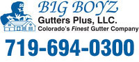 Website for Big Boyz Gutters Plus LLC