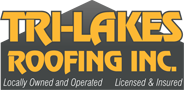 Website for Tri-Lakes Roofing, INC