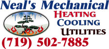 Website for Neal's Mechanical Inc.