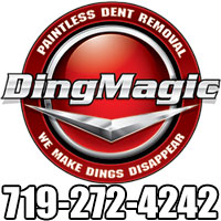 Website for Ding Magic LLC