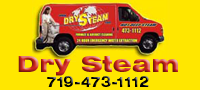Website for Dry Steam Carpet & Upholstery