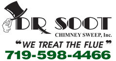 Website for Dr Soot Chimney Sweep Inc