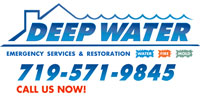 Website for Deep Water Emergency Services and Restoration