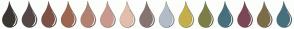 Color Scheme with #3C3633 #544846 #7D5246 #9E6650 #B38172 #CB988E #E3BEAA #867471 #B2BCC7 #C4AF4A #7D7D46 #46707C #7C4655 #7C6D46 #46707C