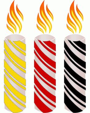 Color Scheme with #F7D708 #CE0000 #000000