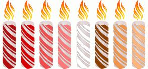 Color Scheme with #B40E0E #D80000 #F04C4C #FF7878 #FFFFFF #8D4000 #F0964C #FFB578