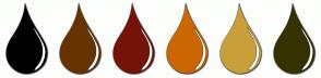Color Scheme with #000000 #663300 #751308 #CC6600 #C99F3A #333300