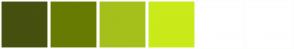 Color Scheme with #46500F #677B02 #A5C01B #CAEA1A #FFFFFF #FFFFFF