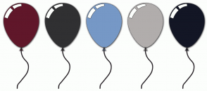 Color Scheme with #60172A #303032 #7698C6 #B1ADAC #131625