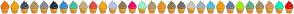 Color Scheme with #FF7302 #FFA902 #3F4C5F #B59A5A #858D96 #182838 #2991D6 #3ACAA6 #CCB47A #F14343 #FFAD0F #BECAFE #947848 #FF006C #9EFFCE #B19C73 #F1991B #907B54 #766D62 #D7CFC3 #A4BBC3 #4BC9E8 #FFA200 #5F7EA9 #A2FF00 #59B881 #A4916D #E7975C #00FFC6 #F00002