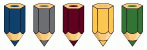 Color Scheme with #0E426C #6C6F72 #5F021F #FFC652 #327534