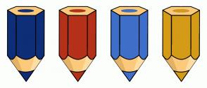 Color Scheme with #0E2E78 #B53119 #3E6FC9 #D49B17