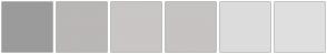 Color Scheme with #9C9B9B #BAB7B6 #C9C6C5 #C6C3C2 #DDDCDC #E0DFDF
