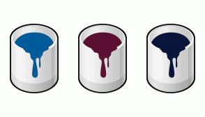 Color Scheme with #005B9A #5C1133 #0A163B