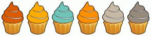 Color Scheme with #DC5C05 #FFAC00 #6EC5B8 #FF9000 #C7BAA7 #978B7D