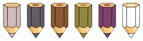 Color Scheme with #D1BBBB #635D64 #8D5932 #93873E #80416C #FFFFFF