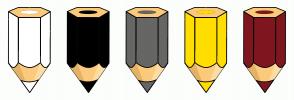 Color Scheme with #FFFFFF #000000 #666665 #FFDE00 #7F171F