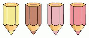 Color Scheme with #F4EA93 #C3856E #EBB6BC #EF949A