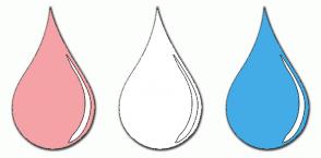 Color Scheme with #F5A2A6 #FFFFFF #43ACE6
