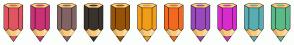 Color Scheme with #E15562 #CA3275 #836363 #38342D #965307 #F09D18 #F2691F #984ABD #D92CCD #58AEB2 #5BBA87