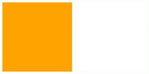 Color Scheme with #FFA300 #FFFFFF