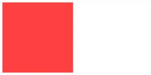 Color Scheme with #FF4040 #FFFFFF