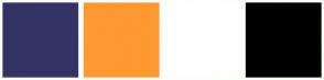 Color Scheme with #333366 #FF9933 #FFFFFF #000000