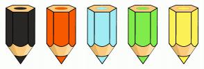 Color Scheme with #292826 #F75A00 #A1ECF4 #80EC4C #FCF157