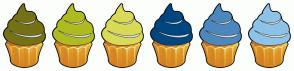 Color Scheme with #757116 #AEBC21 #D9DB56 #00477F #4C88BE #8DC3E9