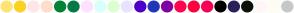Color Scheme with #FFE374 #FCD123 #FFE6E6 #FFDDCA #038333 #067946 #FFE1FF #D7FFFB #DCFFCF #E8E3FF #4F00C7 #2337B8 #81009F #FF054F #FF003D #F50057 #000000 #2A205B #0D1209 #FFF7F7 #FFFCF0 #C7C7C7