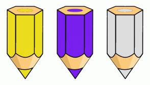 Color Scheme with #ECDD1E #791FEE #DDDDDD