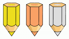 Color Scheme with #ECDD1E #F9A166 #DDDDDD