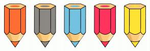 Color Scheme with #FF6E33 #8C8984 #74C2E1 #FF355E #FFE333