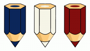 Color Scheme with #0B265A #F6F5E7 #830E0E