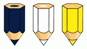 Color Scheme with #081E47 #FDFDFD #FFED11