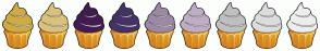 Color Scheme with #CEAC41 #DAC27C #421C52 #443266 #9C8AA5 #BEADC6 #C0C0C0 #DDDDDD #EEEEEE