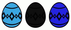 Color Scheme with #3AA6E0 #0F0F0F #2424E0