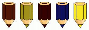 Color Scheme with #511605 #A1911A #360303 #0E105A #F6E621