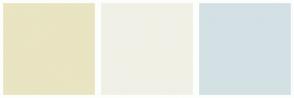 Color Scheme with #E9E4C1 #F0F0E6 #D3E1E4