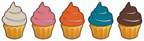 Color Scheme with #D9CCB9 #DF7782 #E95D22 #017890 #613D2D