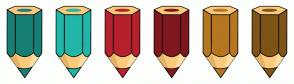 Color Scheme with #177F75 #21B6A8 #B6212D #7F171F #B67721 #7F5417