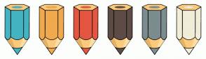 Color Scheme with #44B3C2 #F1A94E #E45641 #5D4C46 #7B8D8E #F2EDD8