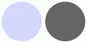 Color Scheme with #D4D7FE #666666