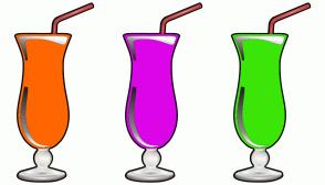 Color Scheme with #FF6600 #DB05E8 #3CE508