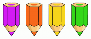 Color Scheme with #D41BF4 #F6681B #F6D51B #35D818