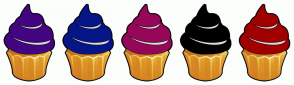 Color Scheme with #430581 #061687 #960759 #000000 #A10000