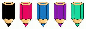 Color Scheme with #000000 #EA0460 #1A78C1 #8D1AB0 #17DB9F