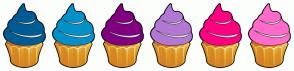 Color Scheme with #005B94 #0191C8 #800080 #B378D3 #FF0080 #FF6BCB