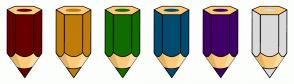 Color Scheme with #680000 #C07C08 #106C00 #004C70 #400068 #DADADA