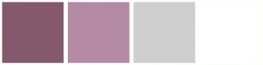Color Scheme with #84596B #B58AA5 #CECFCE #FFFFFF